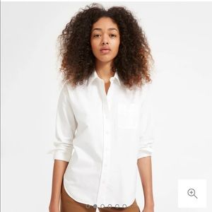 Everlane White Button Down Oxford Shirt
